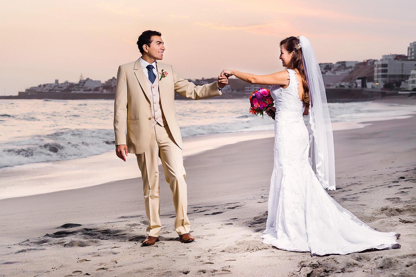 Boda en Playa de Lima Luis Jara Fotógrafo de Bodas