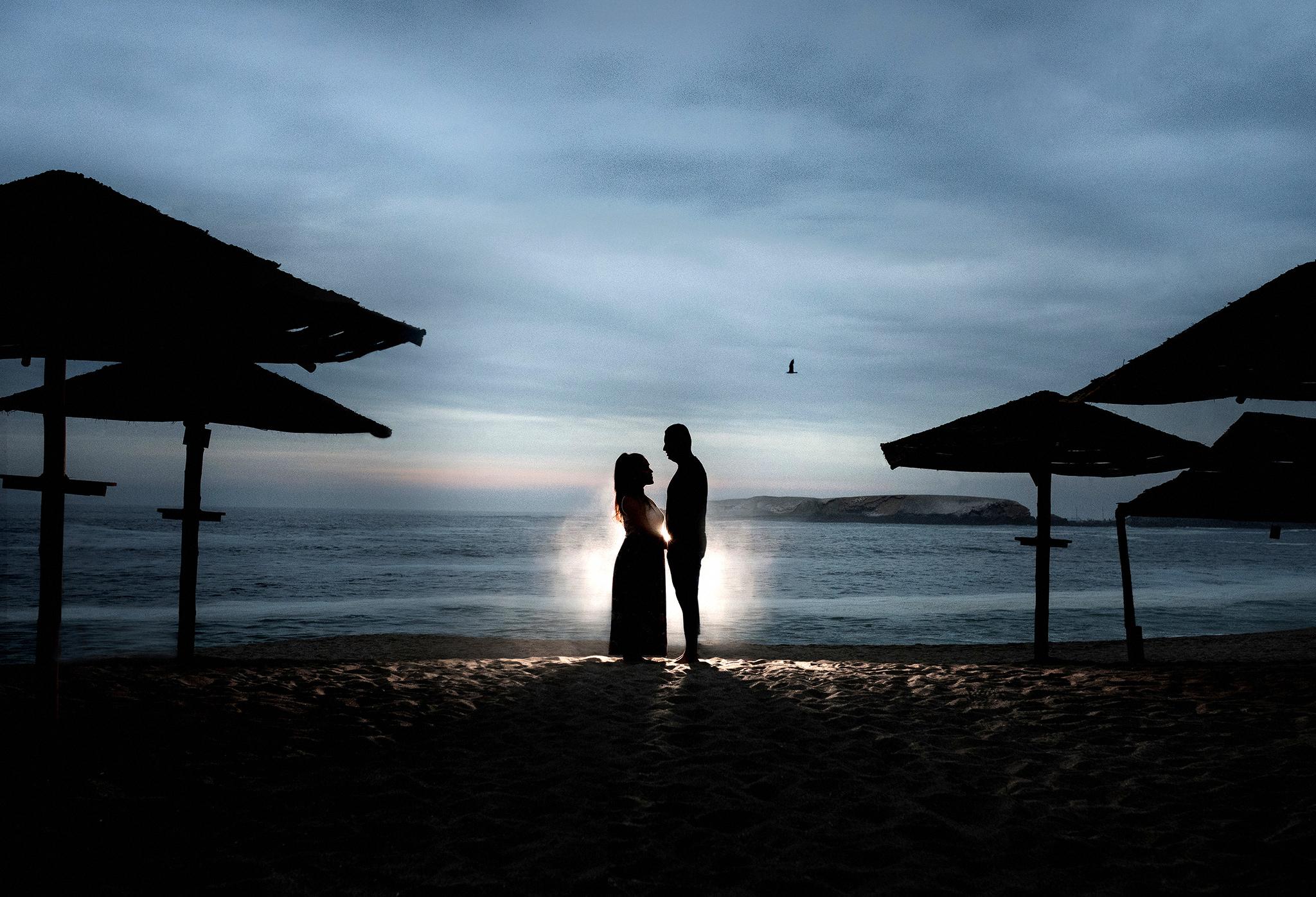 Pre Boda en Playa de Lima